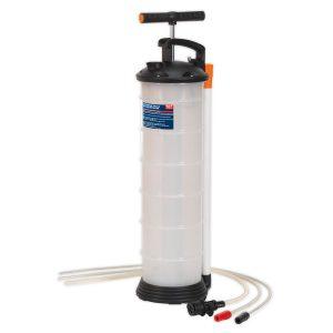 Sealey Handmatige olie en vloeistofpomp 6,5 liter